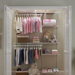 ShelfTrack 60 W - 96 W Closet System