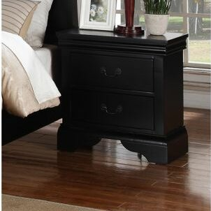 Bois 2 Drawer Nightstand by Charlton Home