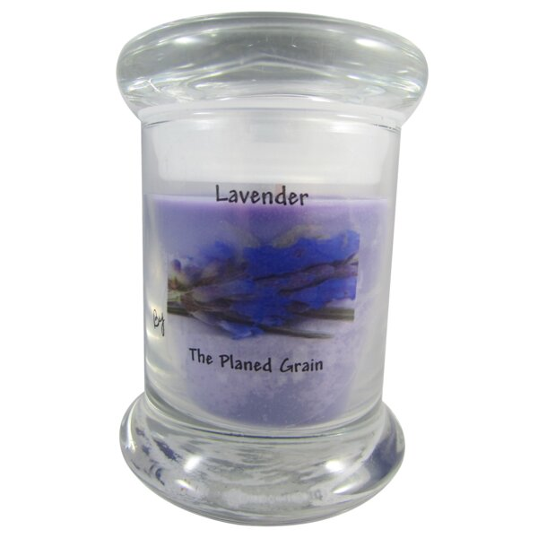 Lavender Soy Scented Jar Candle by The Planed Grain