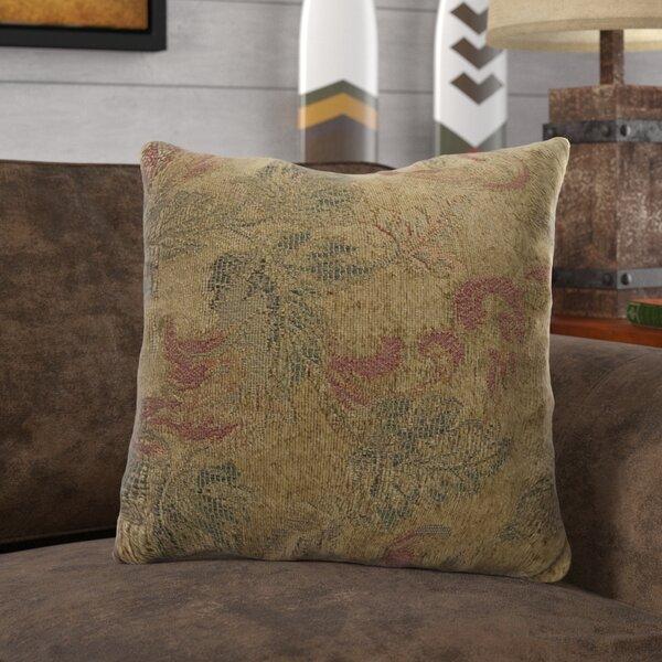 Weir Leaves Throw Pillow (Set of 4) by Loon Peak