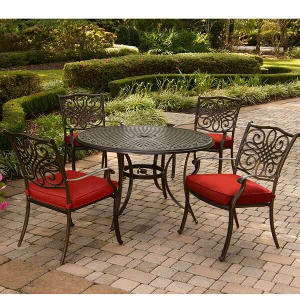 Rackers Traditions 5 Piece Dining Set by Astoria Grand