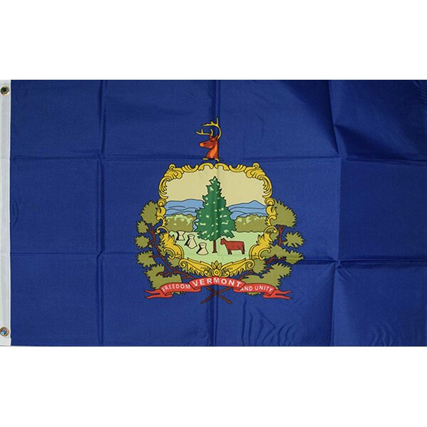 Vermont State Traditional Flag by NeoPlex