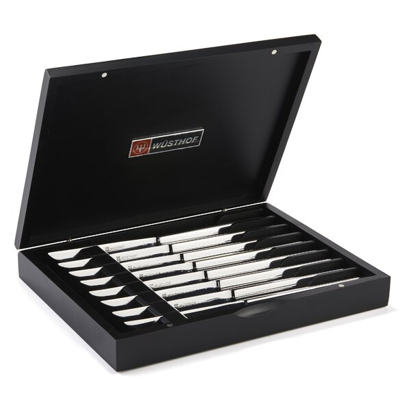 Stainless Steak Knife Set (Set of 8) by Wusthof