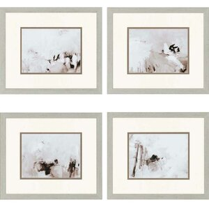 Perception by Sayilir Framed Painting Print (Set of 4) by Paragon