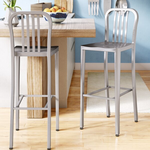 Fairmount 30 Bar Stool (Set of 2) by Latitude Run
