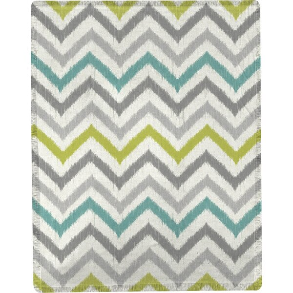 S&J Flea Market Chevron Throw by Manual Woodworkers & Weavers