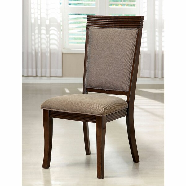 Schreiner Side Chair in Walnut (Set of 2) by Darby Home Co Darby Home Co