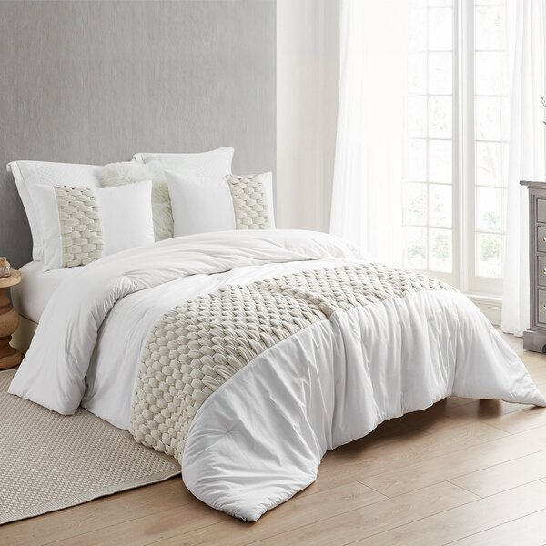 Ladner Knit and Loop Textured Single Comforter