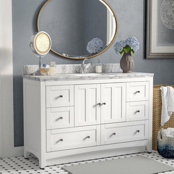 Nixon Floor Mount 48 Single Bathroom Vanity Set by Royal Purple Bath Kitchen