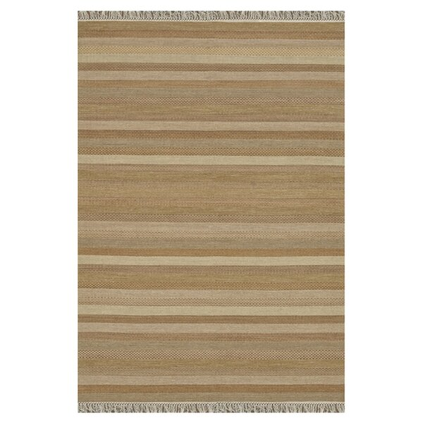 Bartram Hand-Woven Sand/Tan Area Rug by Highland Dunes