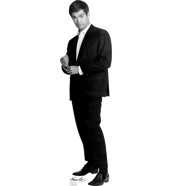 Bruce Lee Suit Cardboard Stand-Up by Advanced Graphics