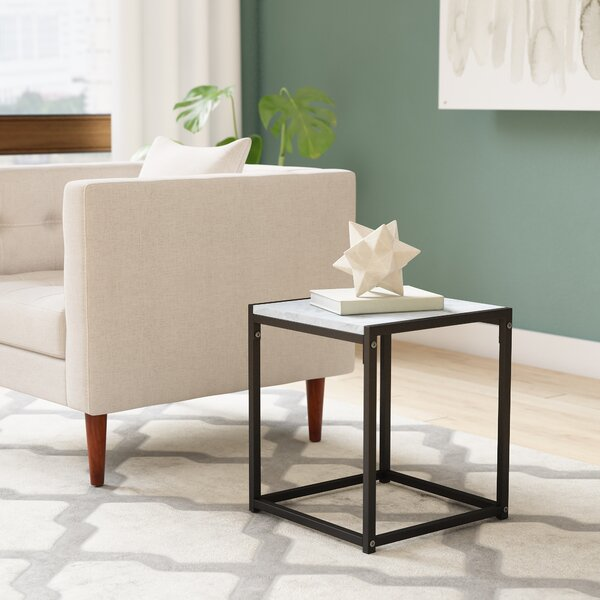 Andresen Modern End Table by Wrought Studio