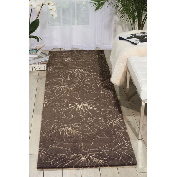 Palisades Wildflowers Hand-Tufted Gray Area Rug by Kathy Ireland Home