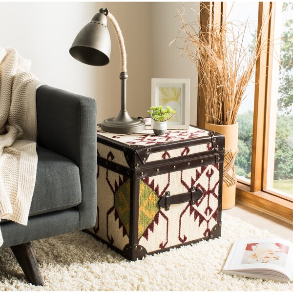 Jackpot End Table with Storage by Safavieh