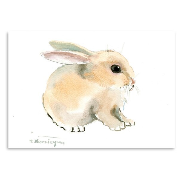 Bunny Painting Print By Ophelia Co.