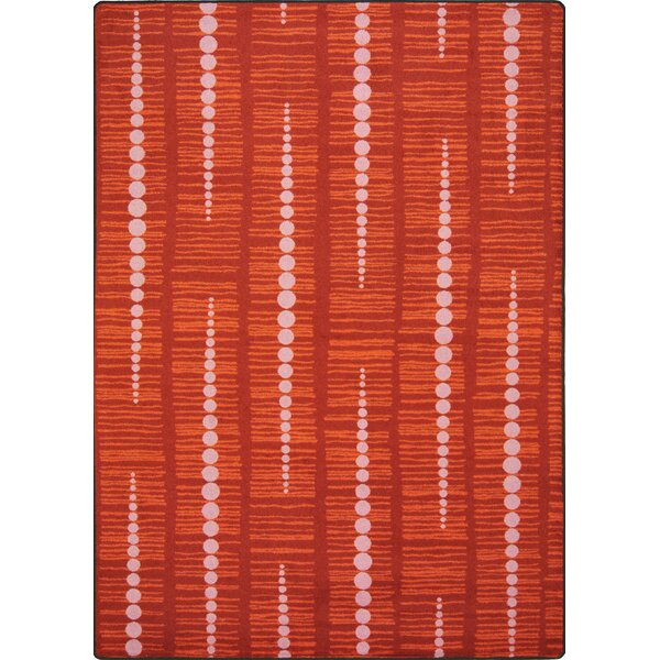 Red Area Rug by The Conestoga Trading Co.