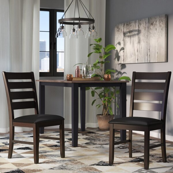 #1 Leola Side Chair (Set Of 2) By Millwood Pines Best Design