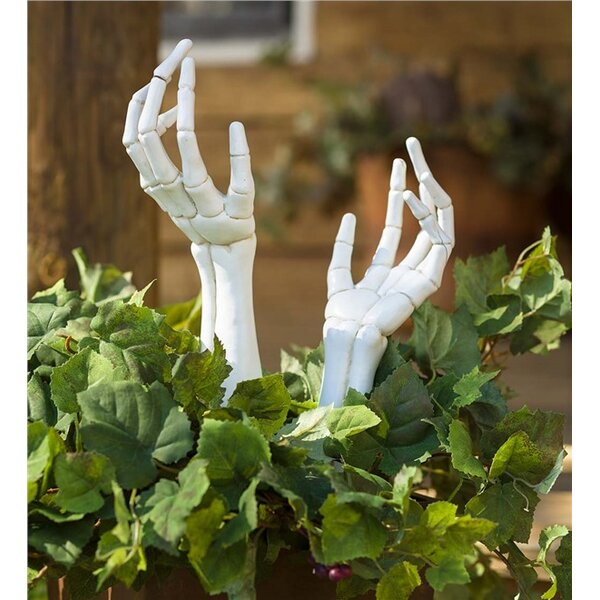 Spooky Halloween Hand Garden Stake by Plow & Hearth