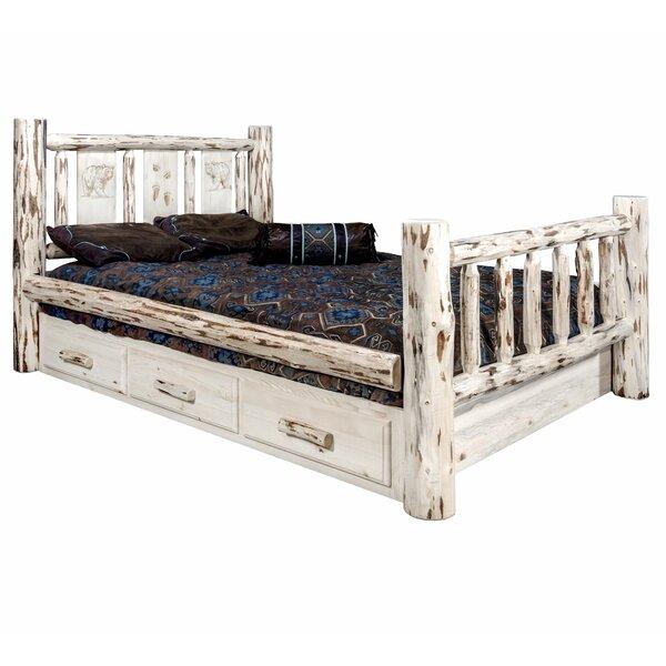 Antigo Storage Platform Bed by Millwood Pines
