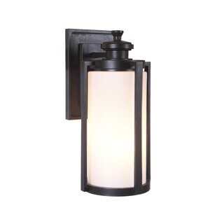 Best Reviews Carsten 1-Light Outdoor Wall Lantern By Gracie Oaks