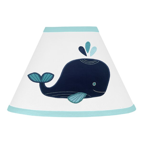 Whale 7 Empire Lamp Shade by Sweet Jojo Designs
