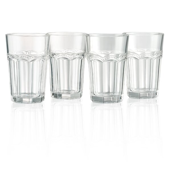 Pearl Ridge 15 oz HighBall Glasses S/4 (Set of 4) by Artland