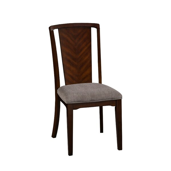 Chastain Solid Wood Dining Chair (Set of 2) by World Menagerie