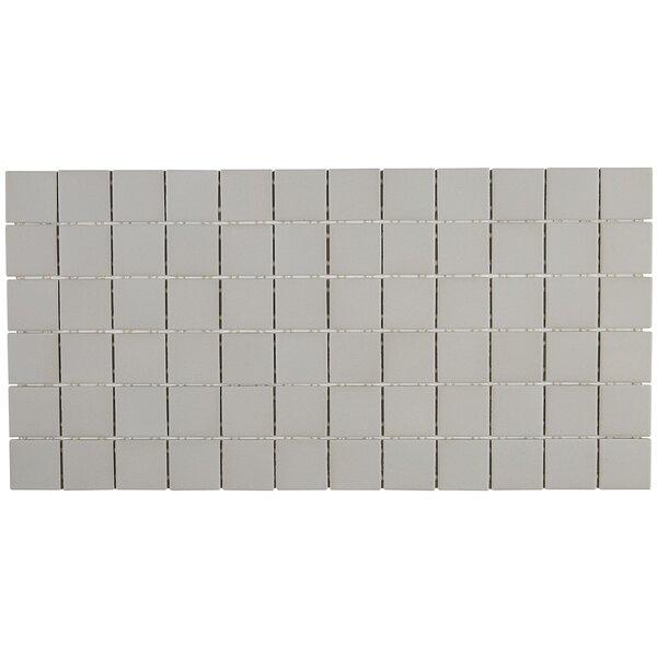 Dalton 12 x 24 Porcelain Mosaic Tile in Desert Gray by Itona Tile