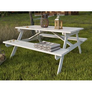 Picnic Benches Wayfaircouk - One sided picnic table