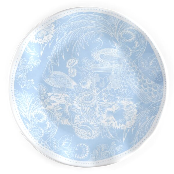 Hampton Toile 8 Melamine Salad Plate (Set of 4) by Q Squared