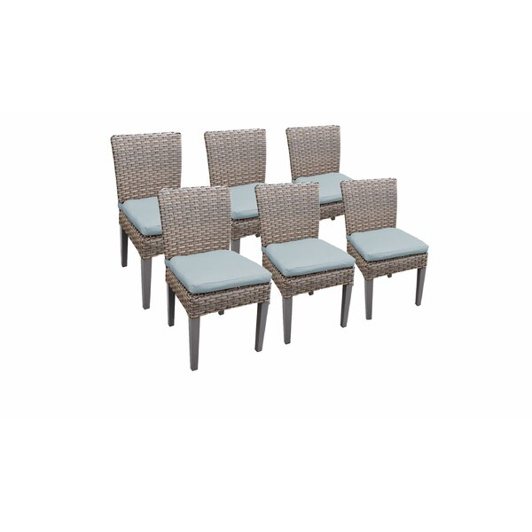 Kenwick Patio Dining Chair with Cushion (Set of 6) by Sol 72 Outdoor Sol 72 Outdoor