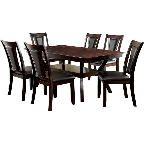 Wilburton 7 Piece Dining Set by Darby Home Co