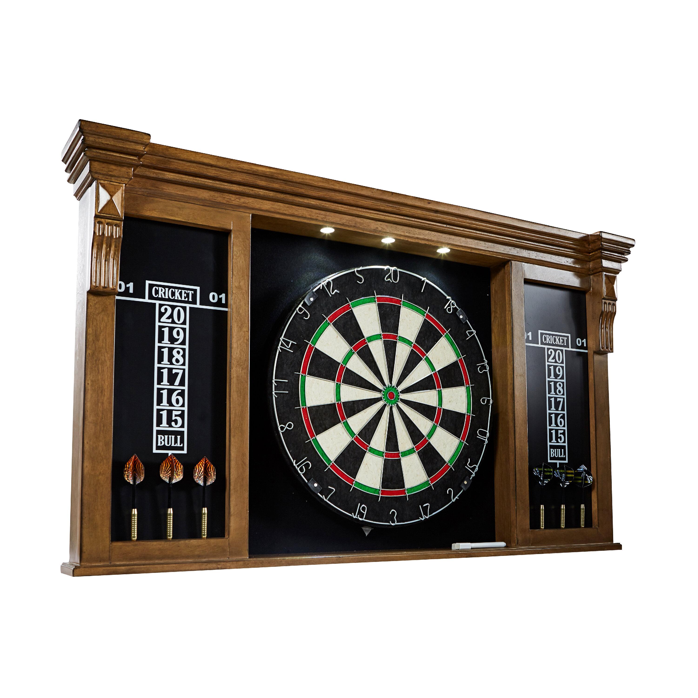Barrington Billiards Company Woodhaven Premium Bristle Dartboard