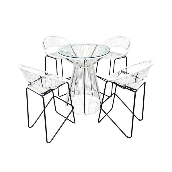 Ehrlich 5 Piece Bar Set by Ivy Bronx