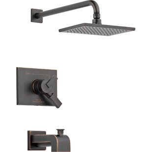 Clearance Vero 17 Series Tub and Shower Faucet Trim with Lever Handles and Monitor ByDelta