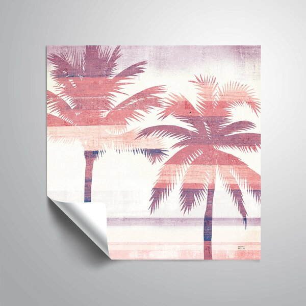 Beachscape Palms III Wall Decal by Bay Isle Home