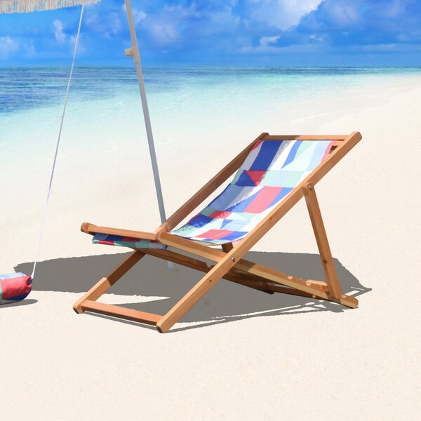 Reidy Cabana Reclining Folding Beach Chair by Brayden Studio Brayden Studio
