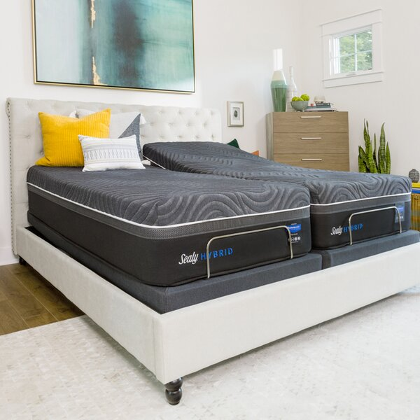 Hybrid™ Premium Gold Chill Cooling 15 Ultra Plush Mattress and Box Spring by Sealy