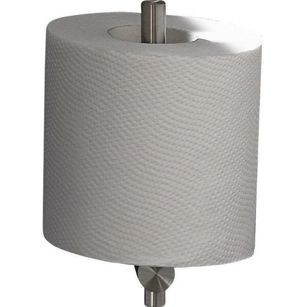 Steel Wall Mount Toilet Paper Holder by AGM Home Store