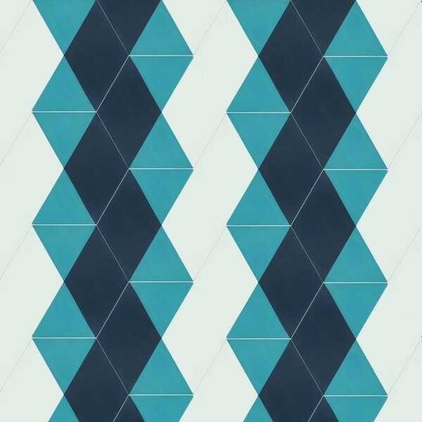 Triaxial 8 x 9 Cement Field Tile