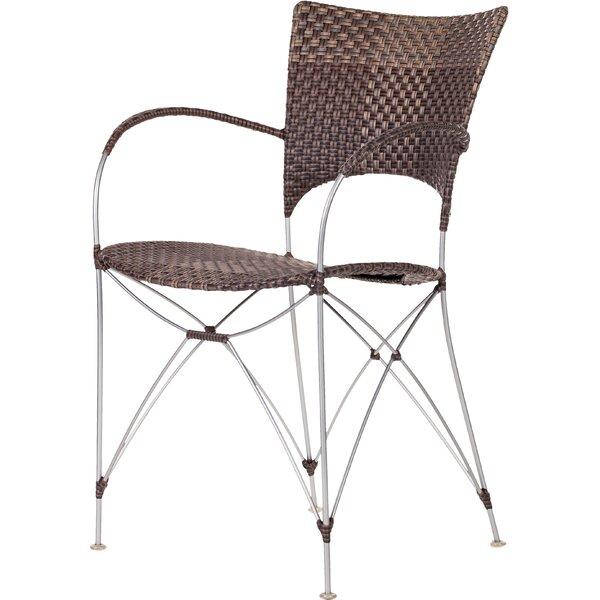 Zen Outdoor Patio Dining Chair by Bloomsbury Market