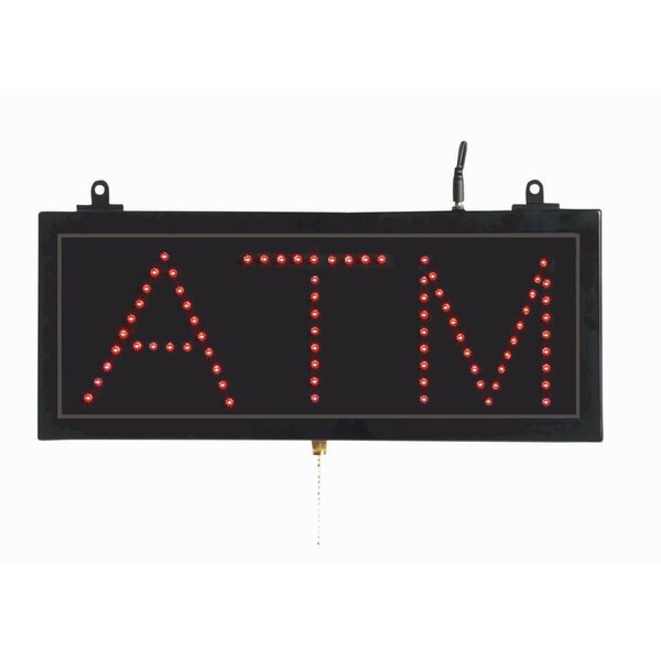 High Visibility LED ATM Sign by AARCO