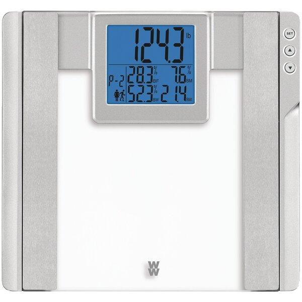 Weight Watchers Glass Body Analysis Scale by Conair