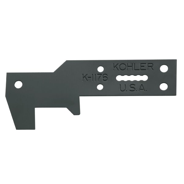Ancora Bath Hanger for Mounting On Side Of Wall Studs by Kohler