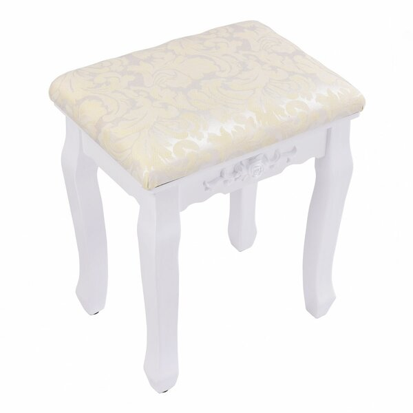 Cadence Vanity Stool by Astoria Grand