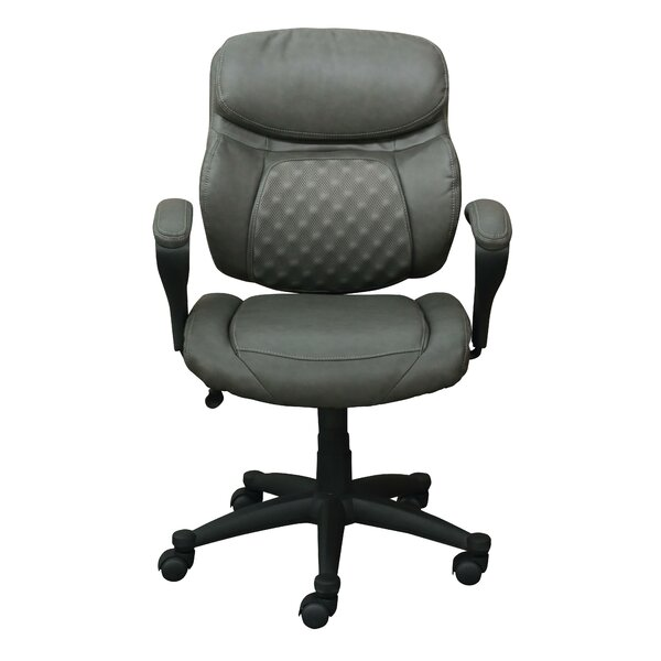 Accupressure Mid-Back Mesh Office Chair by Serta at Home