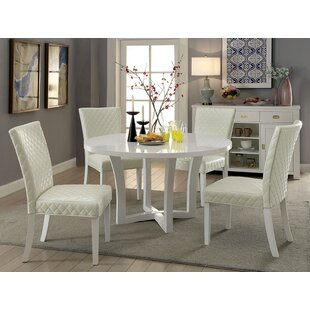 Marlborough 5 Piece Dining Set By Everly Quinn