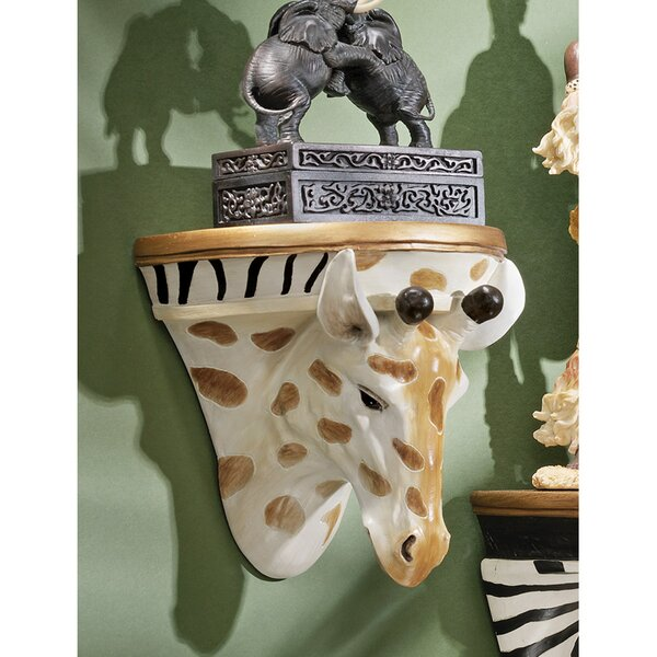 Giraffe Wall Shelf by Design Toscano