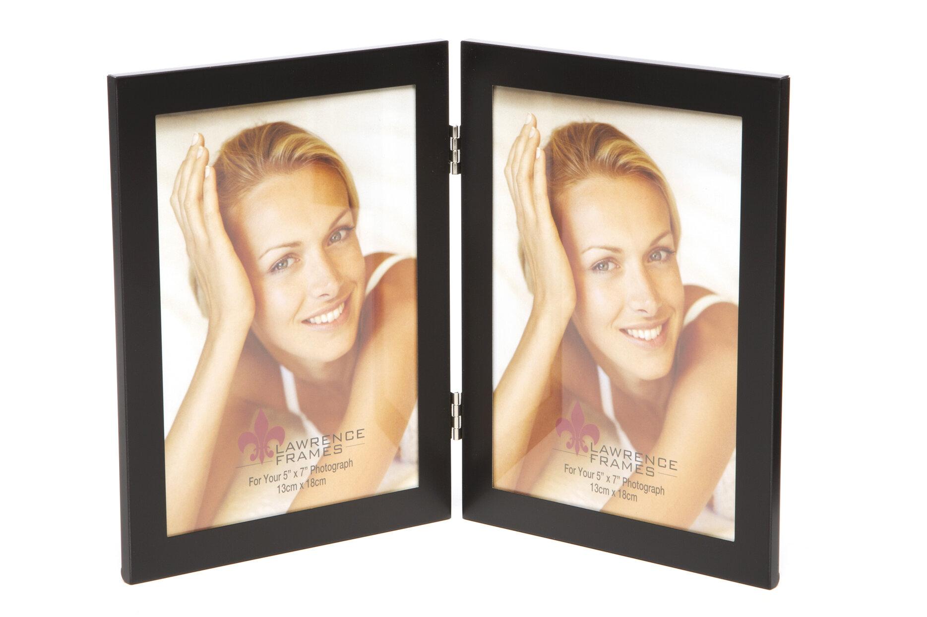 Brayden Studio Mcafee Hinged Double Picture Frame & Reviews | Wayfair