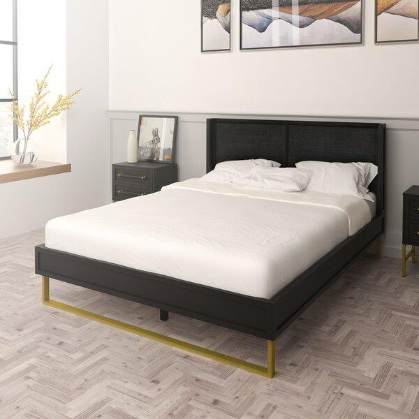 Sophia Queen Platform Bed by Hopper Studio